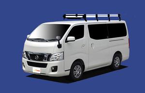★TUFREQ ルーフキャリア NV350キャラバン E26系 標準ルーフ用/Hシリーズ ロング