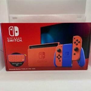 Nintendo Switch ニンテンドースイッチ本体 マリオレッド×ブルーセット