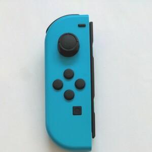Nintendo JOY-CON (L) ジョイコン ネオンブルー 左側