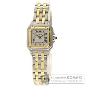 CARTIER カルティエ W2529B6 パンテールSM 2ROW 腕時計 ステンレススチール コンビ レディース 中古品