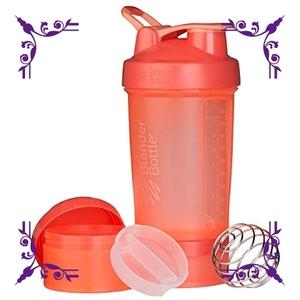 【送料無料】色オレンジ ブレンダーボトル 【日本正規品】 ミキサー シェーカー ボトル Pro Stak 22オンス (650ml