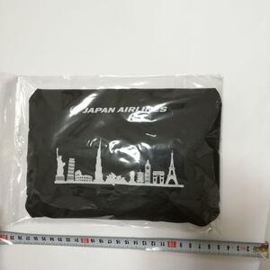 エコバッグ トートバッグ 鞄 バッグ エコバ かばん バッグ カバン ブラック 鞄  黒色カバン JAL 日本航空