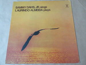 LP SAMMY DAVIS,JR.sings LAURINDO ALMEIDA plays 国内盤