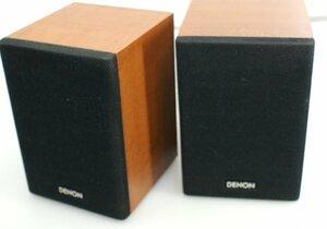 ** Denon DENON compact size speaker system SC-AM380 2 piece set operation OK
