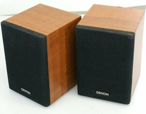 * Denon DENON compact size speaker system SC-AM380 2 piece set operation OK