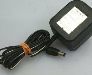 (( free shipping )) immediate payment SONY radio-cassette CFM-101 original AC adaptor 6V AC-101 operation OK
