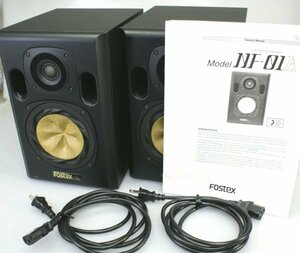 (( one months guarantee ))* beautiful goods FOSTEXfos Tec s*NF-01A* Powered Studio monitor speaker pair instructions attaching operation OK