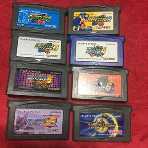 GBA ゲームボーイアドバンス ロックマンエグゼ ゲームボーイアドバンスソフト