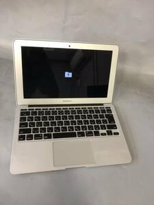 【ジャンク】Apple MacBook Air A1465 2015 /Intel Core i5 / メモリ:4GB /SSD:なし / 起動確認ok JXJK257