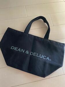 国内正規品 Sサイズ 黒 ブラック ディーンアンドデルーカ トートバッグ DEAN&DELUCA ディーン&デルーカ エコバッグ