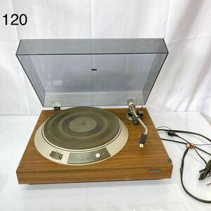 DW75 DENON デノン ターンテーブル DP-790W レコードプレーヤー 中古 現状品 通電OK 動作未確認