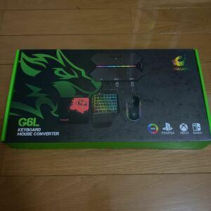 ゲーミング片手キーボード、マウス、専用コンバーター、マウスパッドセットスウィッチ フォートナイト