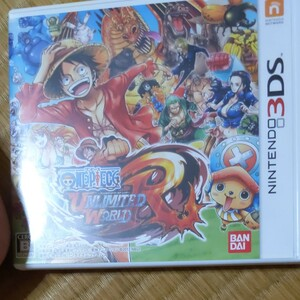ニンテンドー3Dsワンピースアンリミテッドワールドレッド 3DSソフト