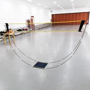 バドミントンネットフレーム プロ バレーボール トレーニング 正方形 メッシュ テニス スポーツネット 3m  A2251
