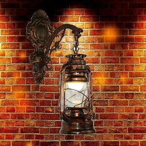 ヨーロピアン☆ランプ 照明 ライト 玄関 軒下 アンティーク エレガント レストラン 素敵 ランタン 寝室 屋内 ガーデン ヴィンテージ