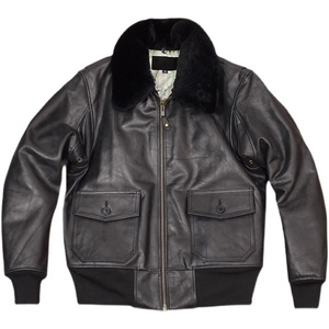 新品 G-1 レザージャケット フライトジャケット 本革 カウハイド 牛革 革ジャン フライドジャケット アメカジ メンズファッション M~4XL