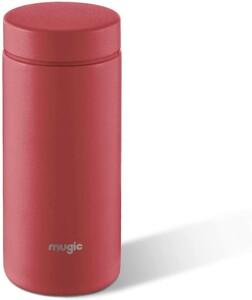 ステンレス水筒 ミニ ボトル 男女兼用 超軽量 携帯便利 保温レッド,200ML