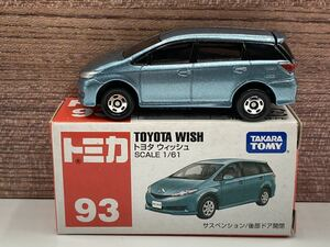 即決有★トミカ 93 トヨタ TOYOTA ウィッシュ WISH ベトナム製★ミニカー