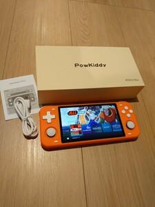 新品 powkiddy RGB10MAX 128GB エミュレーターゲーム機 レトロゲーム ニンテンドースイッチより楽しめるかも