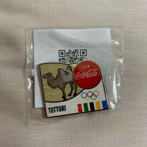 ピンバッジ コカ・コーラ 東京オリンピック 鳥取県