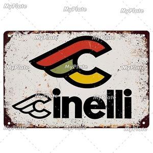 新品◇20×30ヴィンテージ金属看板 cinelli チネリ 自転車 ロードバイク クロスバイク MTB ピスト ガレージ y426
