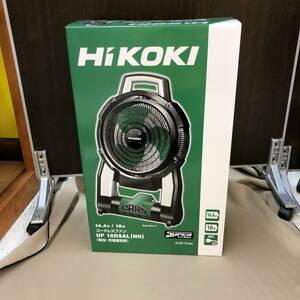 【未使用】 HiKOKI ハイコーキ コードレスファン 14.4V/18V UF18DSAL(N0920_9)