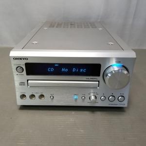 ★ONKYO CD RECEIVER CR-D2 CD/FMチューナーアンプ オーディオ 現状品★