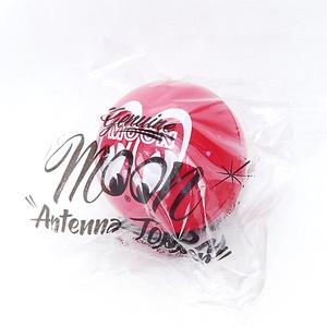 送料無料 正規品 キュートなMOONEYES アンテナボール レッド MG015RD ムーンアイズ アンテナトッパー ボール アンテナ アクセサリー
