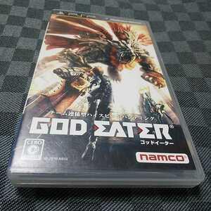 PSP【ゴッドイーター】2010年ナムコ ※対象15歳以上 [送料無料]返金保証あり