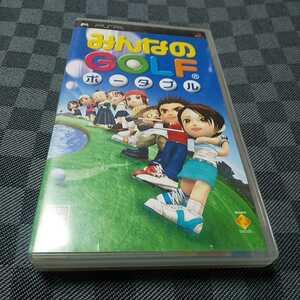 PSP【みんなのゴルフポータブル】2004年ソニーCE [送料無料]返金保証あり