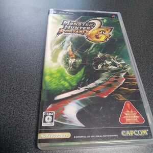PSP【モンスターハンターポータブル2nd G】2008年カプコン ※暴力・グロテスクシーンあり 対象年齢15歳以上[送料無料]返金保証あり