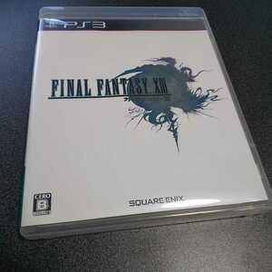 PS3【ファイナルファンタジー13】2009年スクウェア・エニックス [送料無料]返金保証あり