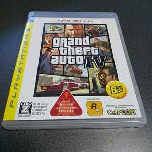 PS3【グランド・セフト・オート4】2008年カプコン ※暴力・グロテスクシーンあり 対象年齢18歳以上 解説書なし[送料無料]返金保証あり