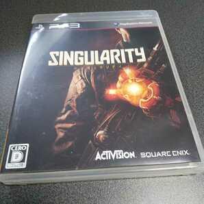 PS3【シンギュラリティ】2010年スクウェア・エニックス ※対象年齢17歳以上[送料無料]返金保証あり