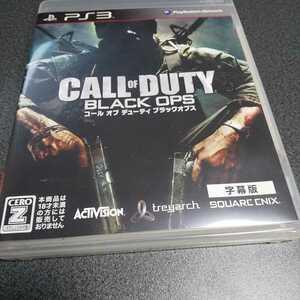 PS3【(字幕版)コールオブデューティ/ブラックオプス】2010年スクウェア・エニックス※対象年齢18歳以上 [送料無料]返金保証あり