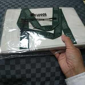 未使用【クーラーバッグ(LOGOS)】耐8kg キャンプ用品