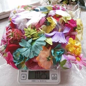 材料 手作り 花 モチーフ パーツ へやゴム ハンドメイド 造花 素材 1