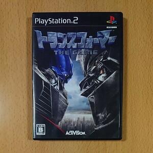 【PS2】トランスフォーマー THE GAME プレイステーション2 / オマケ トランスフォーマー(ジャンク)