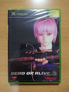【XBOX 新品☆未開封】 DEAD OR ALIVE 3