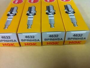 新品送料込NGKスパークプラグBPR6HSA4個りード/リーダー等