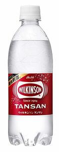 最安【即決・】アサヒ飲料 ウィルキンソン タンサン 炭酸水 500ml×24本