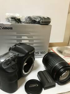 CANON EOS 10D  十 EF 55ー200mm f4・5-5・6 II USM 箱付