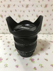 広角 NIKON TOKINA AF 19-35mm f3・5-4・5 AIーS 花型フード付
