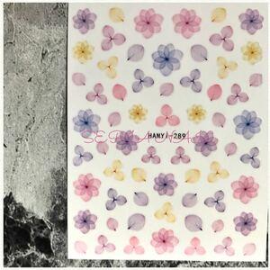 ネイル シール ステッカー アジサイ 紫陽花【NO.289】1455