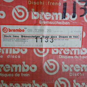 Brembo Brembo BMW 3 E21 E30 front brake rotor 2P 08.3288.20 34111116675