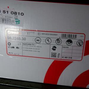 Brembo Brembo Alpha Romeo 1750-2000 105 front brake rotor 2P 08.2565.30 105122201400