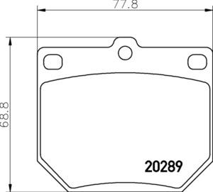 *1 jpy start TEXTAR tech Star teki Star brake pad front Nissan NISSAN LAUREL HLC230 2.0 2028902 2028915500004TP25D immediate payment