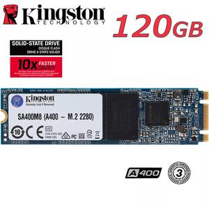SSD Kingston A400▲M.2 120GB 2280 SATA3 新品 高速 3D NAND TLC NGFF 2.5インチ