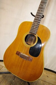 ☆JUMBO ジャンボ 国産12弦アコースティックギター J-12-40 現状・ジャンク特価販売! g0j316