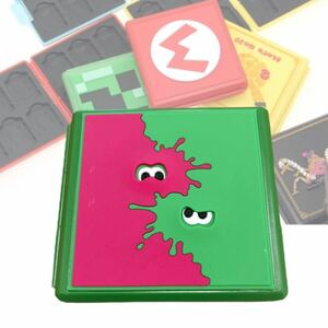 switch カードケース スプラトゥーン カード収納 ソフトケース